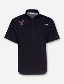 "Texas Tech Columbia ""Tamiami"" Fishing Shirt"