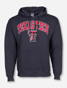 Texas Tech Arch Over Double T Hoodie