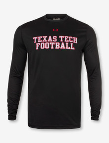 Under Armour Texas Tech Football Stack Long Sleeve