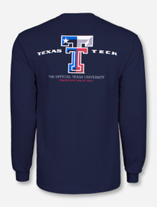 Texas Flag Double T Long Sleeve - Texas Tech