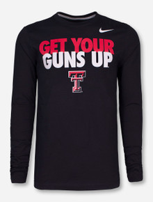 Nike Texas Tech Get Your Guns Up Long Sleeve