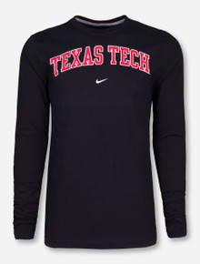 Nike Texas Tech Classic Arch Long Sleeve
