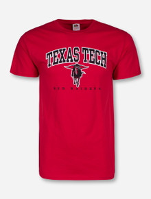 Texas Tech Classic Arch over Masked Rider T-Shirt