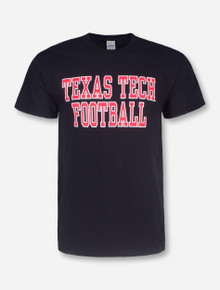 Texas Tech Football Stack T-Shirt