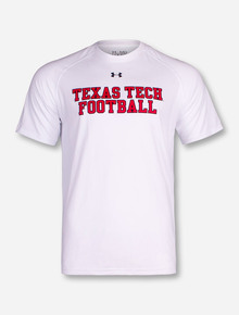 Under Armour Texas Tech Football Stack T-Shirt
