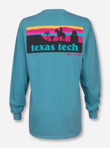 Texas Tech Western Sunset Silhouette Long Sleeve