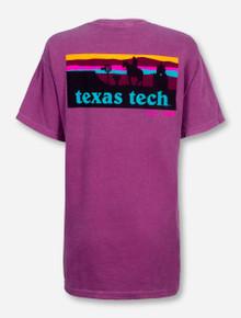 Texas Tech Western Sunset Silhouette T-Shirt