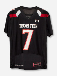 Under Armour Texas Tech #7 YOUTH Jersey