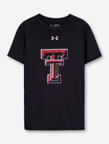 Under Armour Texas Tech Double T on YOUTH T-Shirt