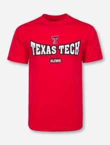 Texas Tech Atomic Alumni Red T-Shirt