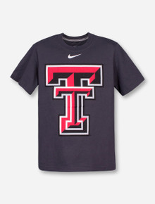 Nike Texas Tech Red Raiders Large Double T YOUTH T-Shirt