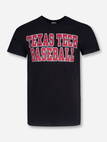 Texas Tech Baseball Stacked T-Shirt