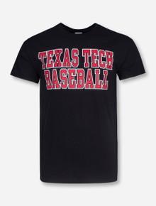 Texas Tech Baseball Stacked T-Shirt