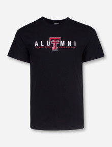 Texas Tech Alumni on Black T-Shirt