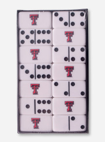 Texas Tech Double T Dominoes