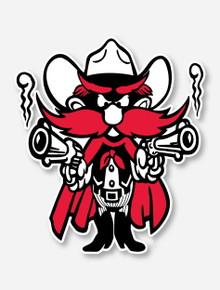 Texas Tech Raider Red Decal