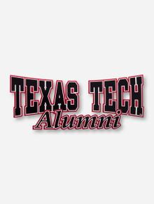 Texas Tech Alumni Decal