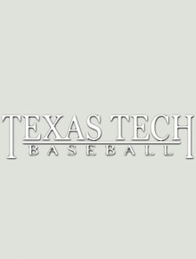Texas Tech Red Raiders Baseball Decal