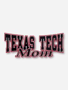 Texas Tech Mom Decal