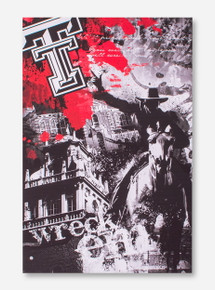 Texas Tech Wreck 'Em Canvas Art