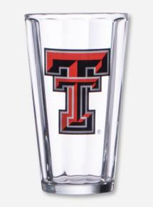 Texas Tech Pub Crawler Double T Pint Glass