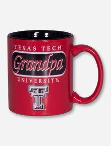 Texas Tech Grandpa Red Coffee Mug
