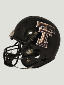 Schutt Limited Edition Camo Double T Wounded Warrior Replica Helmet - Texas Tech