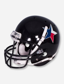 Schutt Texas Star on Black Replica Helmet - Texas Tech