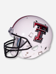 Schutt Texas Tech White Replica Helmet