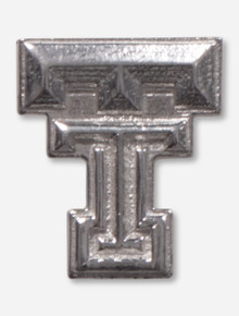 Texas Tech Double T Silver Lapel Pin