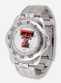 Texas Tech ST Sport Men's Steel Watch