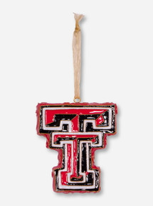 Kitty Keller Double T Ornament - Texas Tech