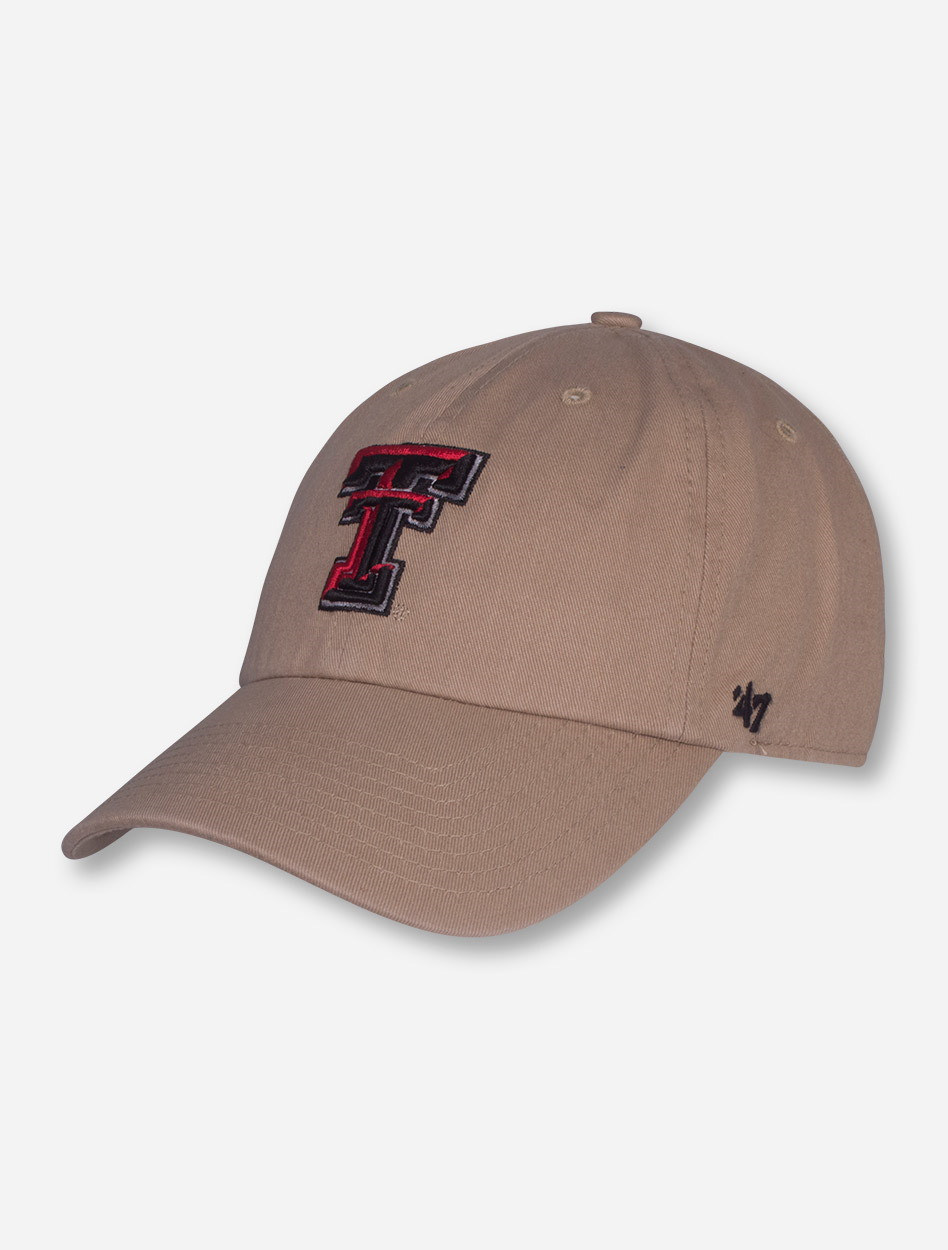 new styles 2fd3c 543ca ... where to buy 47 brand texas tech red raiders clean up adjustable cap  a9e5c 24795