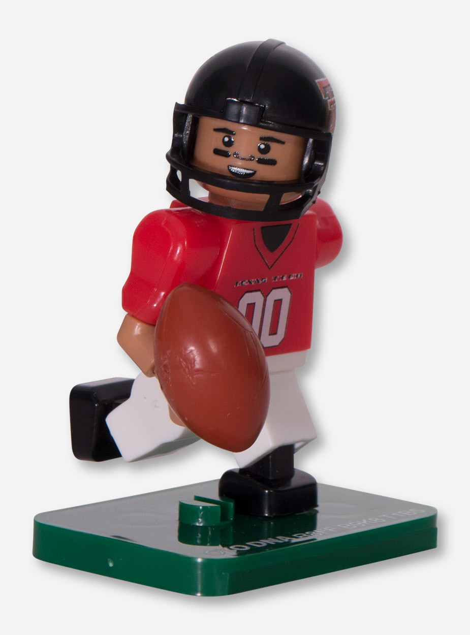 Texas Tech Lego Compatible #00 Campus Collection Minifigure