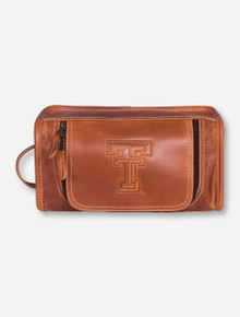 Taylor Falls Texas Tech Tan Travel Kit