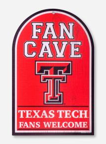 Texas Tech Fan Cave Double T Wall Hanging
