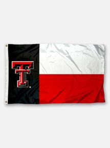 Texas Tech Double T Texas State Flag