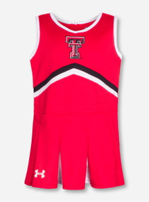 Under Armour Texas Tech Red TODDLER Cheerleading Set