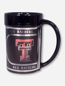 Texas Tech Ceramic Mug with Metallic Graphics