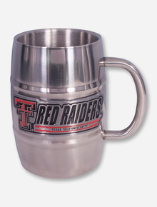 Texas Tech Red Raiders Double Wall Barrel Tankard