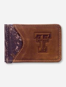 Texas Tech Double T Camo Money Clip