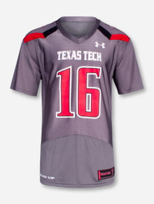 "Under Armour Texas Tech ""On The Field"" #16 Jersey"