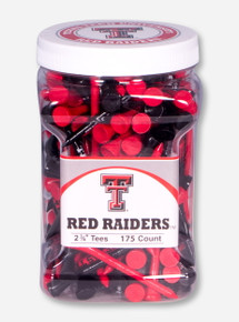 Texas Tech Red Raiders Tee 175 Count Jar