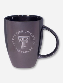 "Texas Tech University ""Space Age"" Metallic Coated Ceramic Coffee Mug"