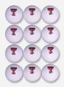 Team Golf Dozen Pack Texas Tech Double T Golf Balls