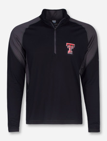 "Texas Tech Columbia ""Freeze Degree II"" Black Quarter Zip Pullover"