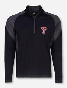 "Texas Tech Columbia ""Freeze Degree II"" Black Quarter Zip Pullover"