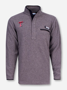 "Texas Tech Columbia ""Harborside"" Fleece Pullover"