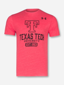 "Under Armour Texas Tech ""Legacy"" Tri-Blend T-Shirt"