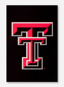 Texas Tech Double T Black Garden Flag